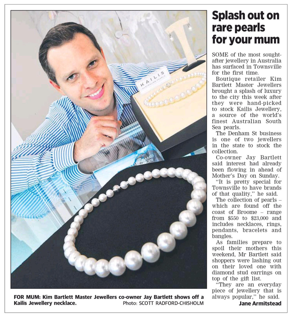 World-renowned South Sea Pearls surface in Townsville