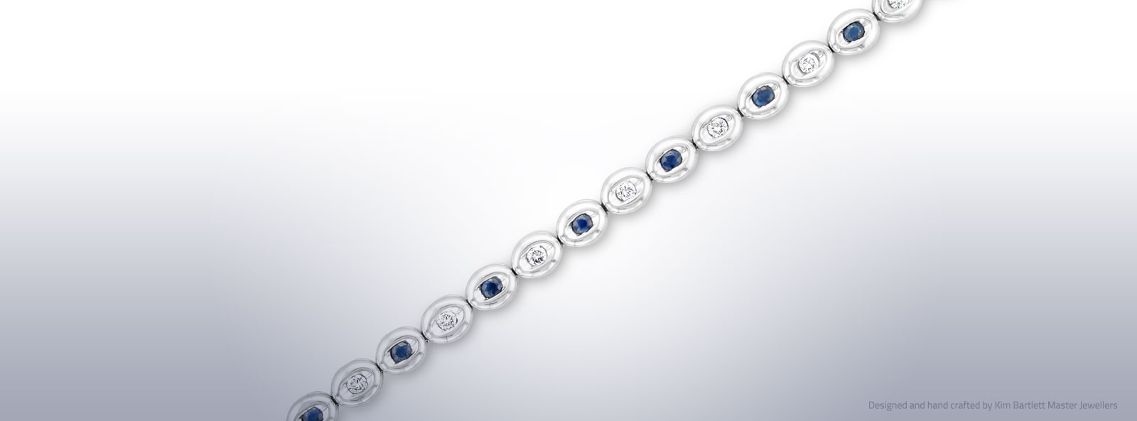 Diamond and Saphire Bracelet